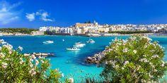 Glasklares Wasser, traumhafte Buchten und entzückende Dörfer - das ist der der Stiefelabsatz Italiens.