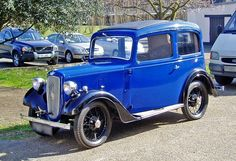 """1936/7 Austin Seven """"New Ruby"""" Saloon with 747cc  4-Cylinder Side-Valve Engine at 10.5Hp"""