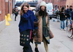 new york fashion week fall 2016 street style Cool Street Fashion, Love Fashion, Winter Fashion, Fashion Outfits, Street Style 2016, Street Style Looks, Vogue, Fall Winter Outfits, New York Fashion
