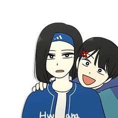 Webtoon love revolution Manhwa Manga, Manga Anime, Manga Couple, Wallpaper Pc, Dope Art, Drawing Skills, Aesthetic Anime, Webtoon, My Drawings