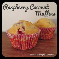 I've made a few batches of muffins today for my partner to take to work tomorrow. These are delicious and so easy in the Thermomix. They freeze well too