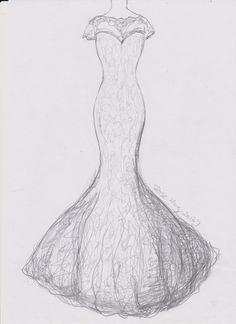 Long Sleeve Sweetheart Lace Wedding Dress Mermaid Wedding Dress Reserved for Ashley
