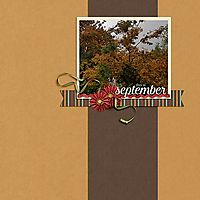 This is September
