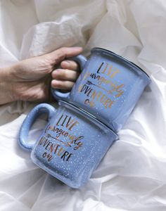 Large mug for extra comfort! In stock now!