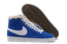differently 38668 834e8 Buy Mens Womens Nike Blazer High Premium Retro Suede Shoes Royal Blue White  from Reliable Mens Womens Nike Blazer High Premium Retro Suede Shoes Royal  ...