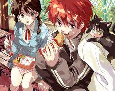 Rinne y Sakura // kyoukai no rinne All Anime, Manga Anime, Anime Art, Tomoe, Inuyasha, Anime Couples, Cute Couples, Rin Ne, Eren And Mikasa