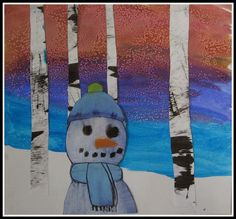 my example Or I guess I should say snowpeople.  :)  I was admittedly overly ambitious to think the children cou...