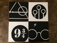 Harry Potter Canvas Wall Art