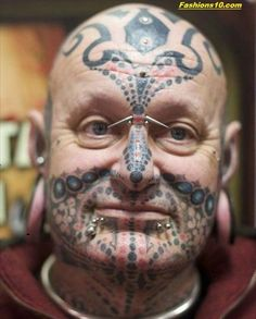 26 Jaw Dropping Face Tattoos which will Shock You 2016-17