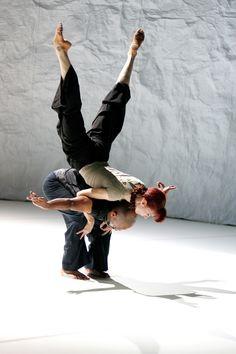 Sylvie Guillem and Akram Khan in Sacred Monsters.  Photo (c) Tristam Kenton.