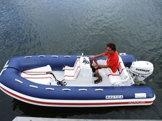 Equipped rigid inflatable boat (outboard, center console) NANO 15 Nautica Ribs 4.6 .s