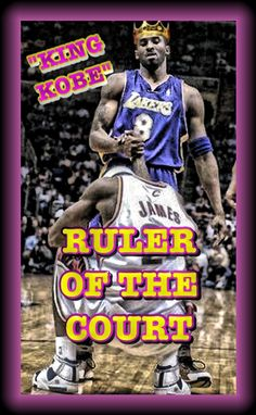I know!!! Kobe of course is the king!!!