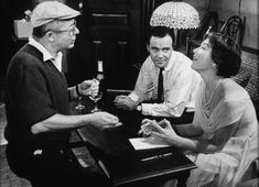"""Billy Wilder, Jack Lemon and Shirley MacLaine """"The Apartment"""" 1960"""