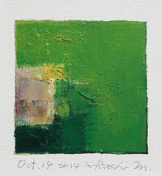 Oct. 14 2014  Original Abstract Oil Painting  by hiroshimatsumoto