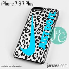 nike leopard just do it Phone case for iPhone 7 and 7 Plus