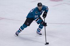 San Jose Sharks defenseman Dan Boyle (Oct. 3, 2013).