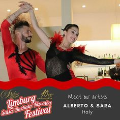 Meet the artists. Get your ticket at: LimburgSalsaFestival.com #10LSBKF #LSF #LSBKF #SalsaBrisa #Maastricht #Alwaysfun #Nonstopdancing #nonstopfun #albertosara