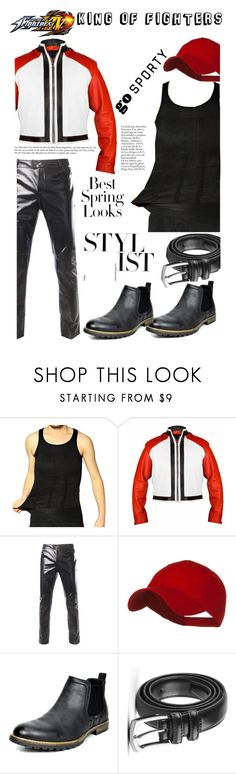 """""""The king of fighters"""" by hjackets ❤ liked on Polyvore featuring H&M and Marc"""