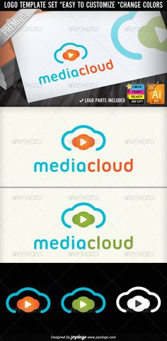 Music & Video Play Media Cloud Logo Designs  #GraphicRiver          Music & Video Recording Tube Play Media Clouds Logos Designs Templates, Logo Parts included, Scalable To Any Size, Illustrator & EPS Files, CMYK 300 DPI , Print Ready, Customizable, Font used in help file       Created: 14March12 GraphicsFilesIncluded: VectorEPS #AIIllustrator Layered: Yes MinimumAdobeCSVersion: CS5 Resolution: Resizable Tags: audio #audiotech #beat #cd #cinema #digital #engineer #entertainment #equalizer… Business Flyer Templates, Flyer Design Templates, Logo Templates, Record Label Logo, Organic Logo, Entertainment Logo, Green Business, Leaf Logo, Music Logo