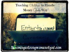 Teaching Children to Handle Money Gods Way | TheHomeschoolVillage.com