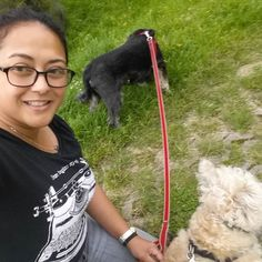 Taking a break from repacking gear and from creative writing to walk the dogs a bit #creativeminds #dogsofinstagram #takingabreak #writersblock