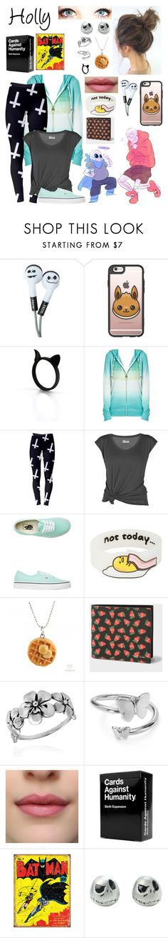 """""""Underswap OC"""" by nebulaprime ❤ liked on Polyvore featuring beauty, Casetify, Lija, Vans, SANRIO, Paul Smith, AeraVida and Alex and Ani"""