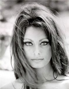 Vintage Sophia Loren | ... 2011 305 hollyhocksandtulips vintage actress beauty eyes sophia loren