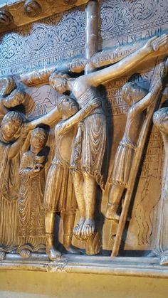 Deposizione- Benedetto Antelami - altorilievo 1178