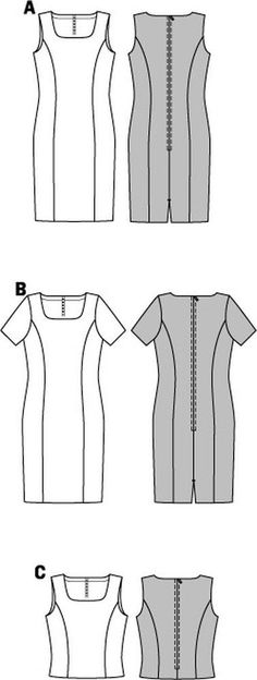 Pattern for Burda Style, Dress | Simplicity