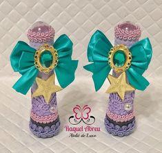 Nenhuma descrição de foto disponível. Mermaid Baby Showers, Baby Mermaid, Mermaid Birthday, Diy Crafts Videos, Diy And Crafts, Birthday Treats, Diy Party, Craft Gifts, Wedding Favors