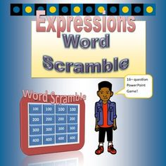 Mathematics vocabulary has never been this much fun! Your sixth grade students will love this fast paced word scramble game. Just divide the class into two teams for this engaging 16- question review. It is definitely teacher friendly. It takes just a few minutes to set up.