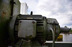 Kranmotor im Hafen Oldenburg
