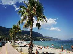 Ipsos mesés partja #corfu #Ipsos #korfu #pálmafa #tengerpart Wonderful Places, Greece, Outdoors, Beach, Water, Travel, Corfu, Nice Asses, Water Water