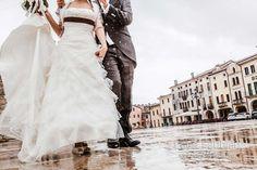 Wedding: Someone's walking in the rain