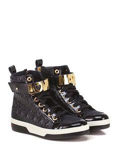 LOVE MOSCHINO - Sneakers - Donna - Sneaker in eco pelle trapuntata, vernice e…