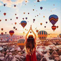Cappadocia Turkey | Photography by @hobopeeba #destinationearth by @destination.earth