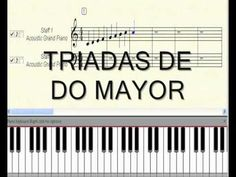 CLASE DE PIANO LECCIÓN 21 - TRIADAS-DE-DO-MAYOR.wmv