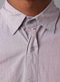 Long Sleeve Reverse Seam Inside Pocket Shirt by Steven Alan.