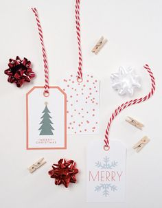 free holiday tags by creative index