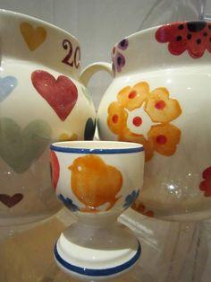 Emma Bridgewater Studio Special Hearts & Flowers Egg Cup