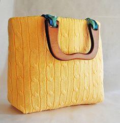 Sweater Bag{Repurpose Universe}: