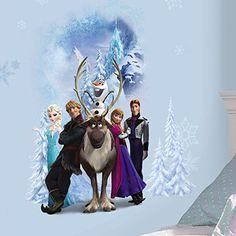 RoomMates Disney Frozen Character Winter Burst Peel and Stic...