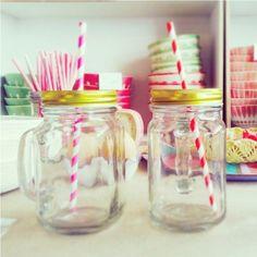 chope Mason jar
