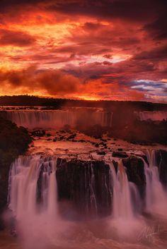 Fiery Iguazu by Nae Chantaravisoot on 500px