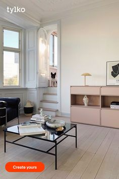 Say goodbye to wobbly room dividers or shelves with Tylko's sturdy, stable storage. Customise every detail of your room divider - from colour and size to smart inserts and organisational helpers - and then assemble your shelf in a snap for totally easy custom furniture. Use the online configurator to slide and swipe your way to perfect-fit shelves that divide any space and look great from every angle. Decoration Inspiration, Interior Inspiration, Apartment Design, Apartment Living, Regal Design, Home Ceiling, New Furniture, Custom Furniture, Living Room Interior
