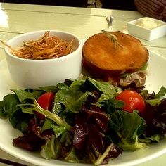 Nothing ordinary about the soup, salad, and sandwiches @FearringtonNC Granary!