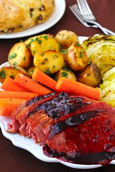 You will love this savory Glazed Corned Beef recipe. It is sure to make your mouth water!