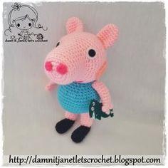 Peppa Pig's brother George Plushie - free pattern