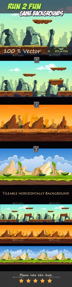 Run 2 fun game backgrounds Download here: https://graphicriver.net/item/run-2-fun-game-backgrounds/11153972?ref=KlitVogli