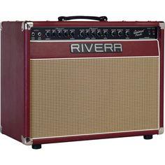 RiveraQuiana 112 50-Watt Tube Combo Guitar AmpRuby